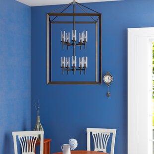 Thorne 10-Light Foyer Pendant by Three Po..