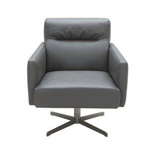 Orren Ellis Liner Swivel Lounge Chair