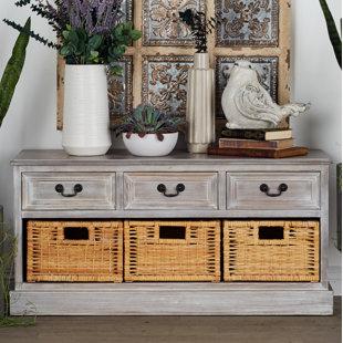 Cole & Grey 3 Drawer Storage Bench