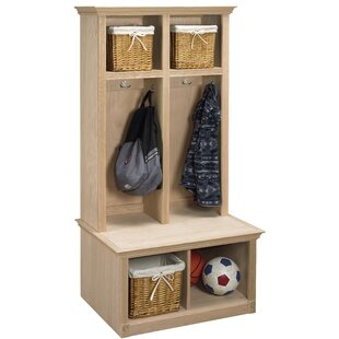 Arthur W. Brown Regal 2 Piece Sit and Store Hall Tree Set