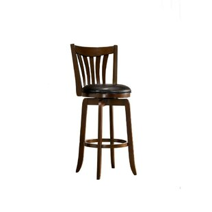 Haynes Wooden 29 Bar Stool Alcott Hill