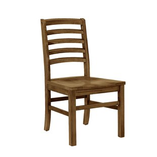 Rader Horizontal Solid Wood Dining Chair (Set of 2) Gracie Oaks