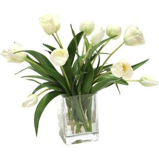 Tulip Artificial Flowers You'll Love | Wayfair