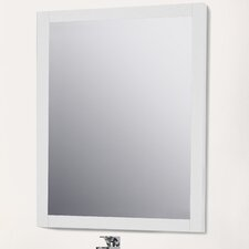 Chrome Framed Bathroom Mirrors modern bathroom mirrors | allmodern