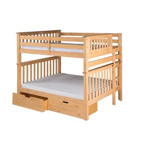 Santa Fe Mission Tall Bunk Bed with St..