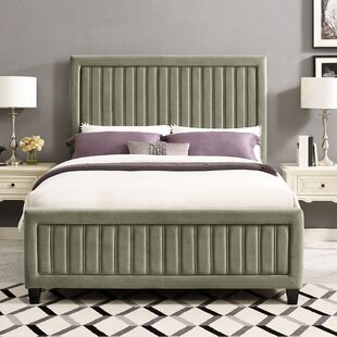 Gerke Upholstered Panel Bed