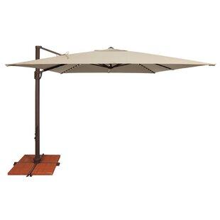 SimplyShade Bali 10' Square Cantilever Umbrella