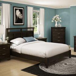 Platform Bedroom Sets Queen south shore gravity queen platform customizable bedroom set