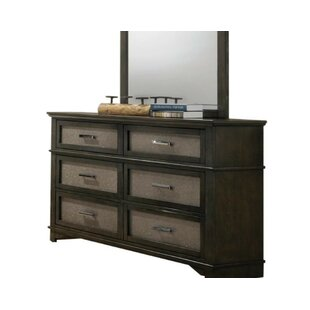 Behrendt 6 Drawer Double Dresser