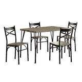 Middleport 5 Piece Dining Set by Andover Mills™