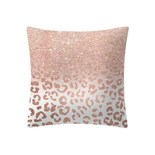 Everly Quinn Ramsha Peach Skin Cashmere Glam Decorative Cushion 18 Throw Pillow Cover Wayfair