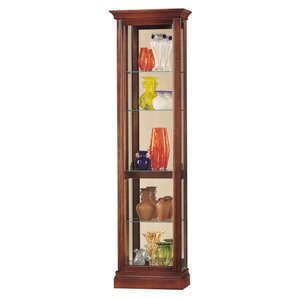 Gregory Lighted Curio Cabinet by Howard Miller®