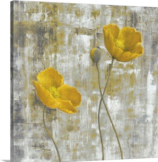 Great big canvas yellow flowers i by carol black painting print yellow flowers i by carol black painting print mightylinksfo