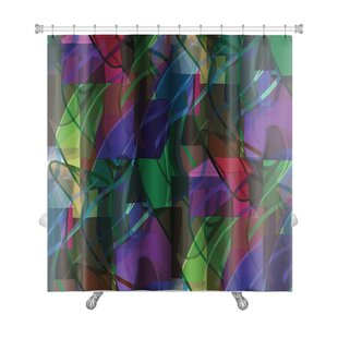Art Alpha America Ancient Wallpaper Cubism Impressionism Premium Single Shower Curtain