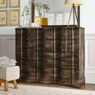 Abbe 8 Drawer Double Dresser by Birch Lane™ Heritage