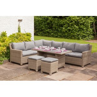 Swindon 8 Seater Rattan Effect Sofa Set By Sol 72 Outdoor