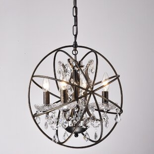 Willa Arlo Interiors Carlo 4-Light Chandelier