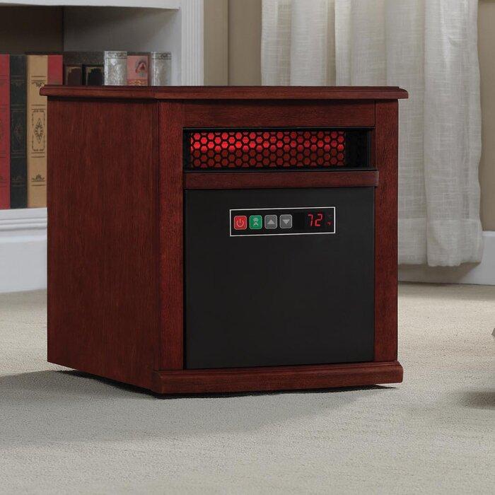 Duraflame 1,500 Watt Portable Electric Infrared Cabinet Heater ...
