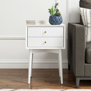 Best Price Gilligan Mid-Century End Table with Storage by George Oliver