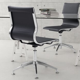 Review Stan Mid-Back Desk Chair by Wade Logan