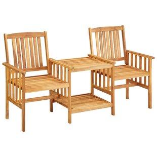 Konigstein Wooden Bistro Table Image