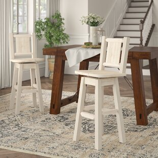 Shopping for Abella Handcrafted 30 Swivel Barstool by Loon Peak Reviews (2019) & Buyer's Guide