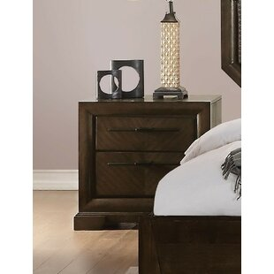 Baver 2 Drawer Nightstand