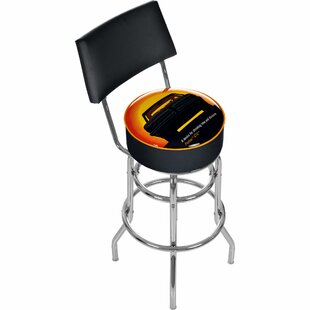 Pontiac 31 Swivel Bar Stool Trademark Global