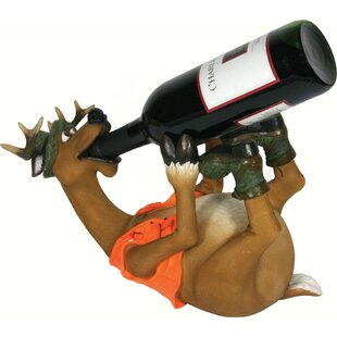 Sewa Deer 1 Tabletop Wine Bottle Rack by ..