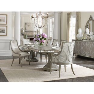 Sanctuary 7 Piece Extendable Dining Set by Hooker Furniture
