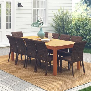 Elsmere 11 Piece Teak Dining Set