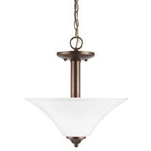 Darby Home Co Buren 2-Light Bowl Pendant