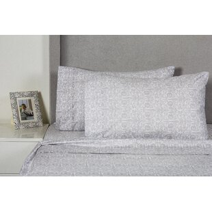 One Allium Way Quandt 400 Thread Count 100% Cotton Sheet Set