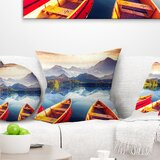 Go Jump In The Lake Pillow Wayfair