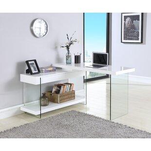Hizer Glass Credenza desk