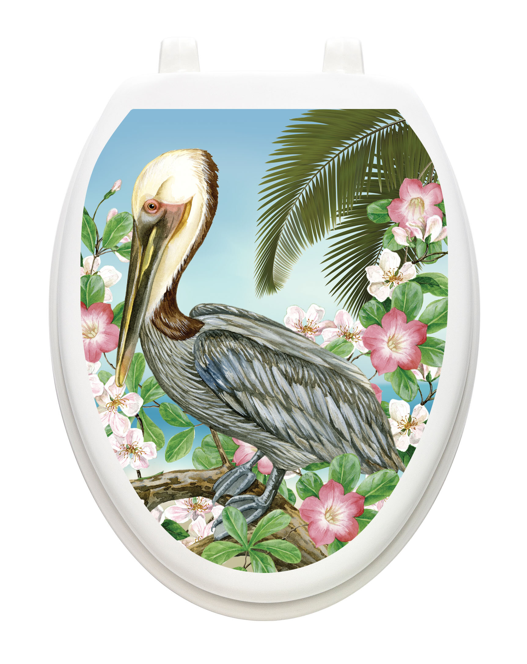 Groovy Pelican Toilet Seat Decal Creativecarmelina Interior Chair Design Creativecarmelinacom