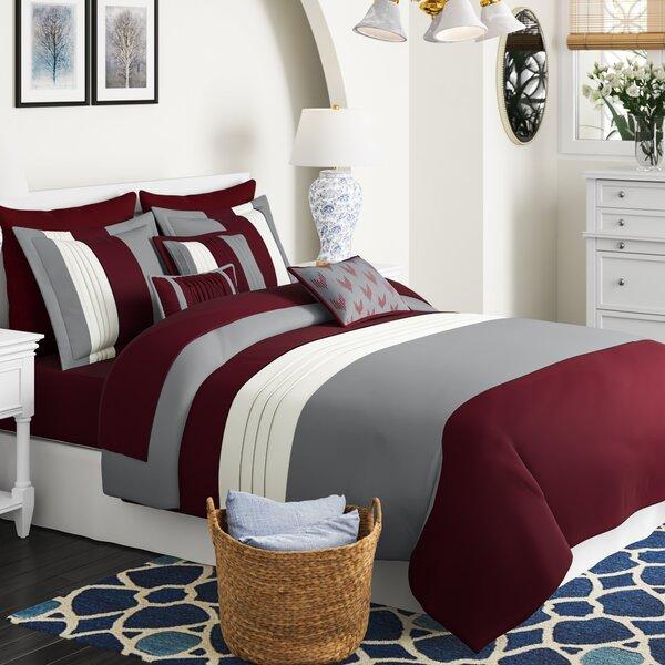 10 Piece Comforter Set Wayfair Ca