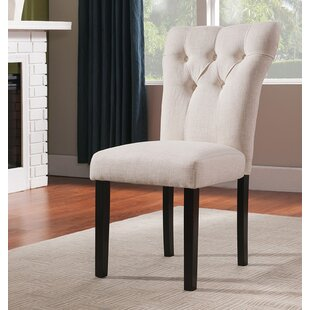 Derbyshire Upholstered Dining Chair (Set of 2) Charlton Home