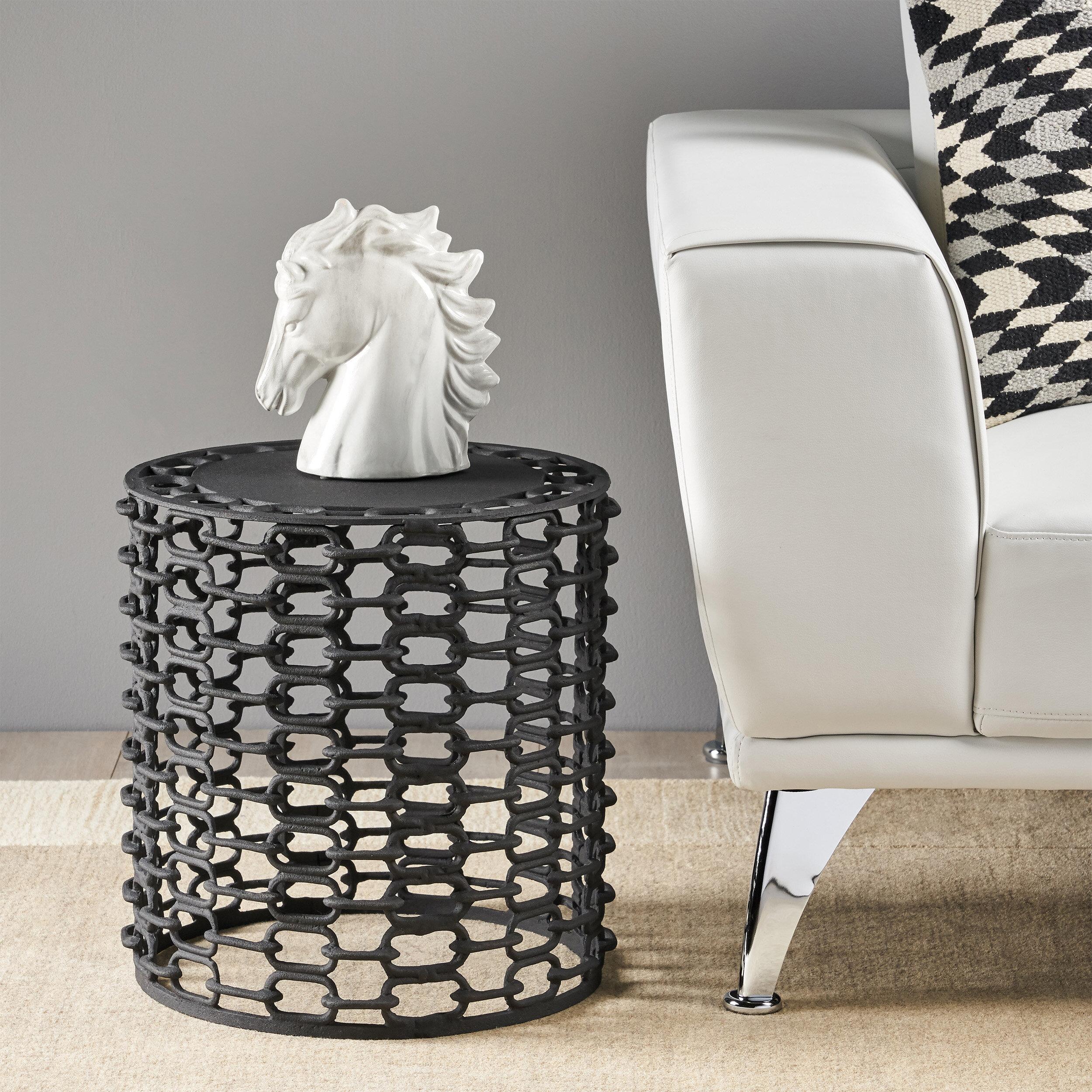 - Williston Forge Katherine Modern Aluminum Accent Table Wayfair