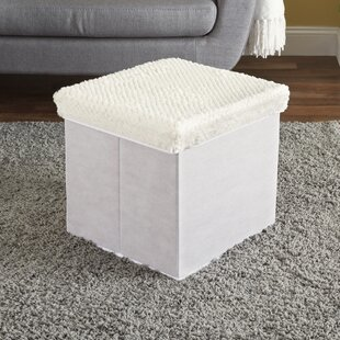 Storage Cube Ottoman by Home Basics