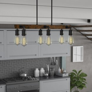 Trent Austin Design Davidson 6-Light Kitchen Island Pendant