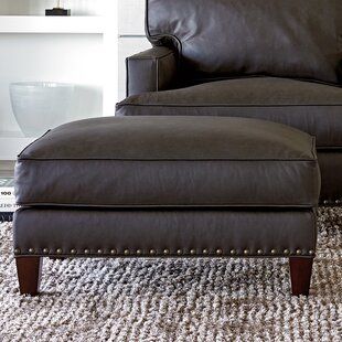 Zavala Leather Ottoman by Lexington