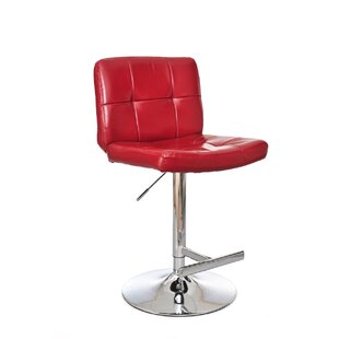 Marsha Adjustable Height Swivel Bar Stool