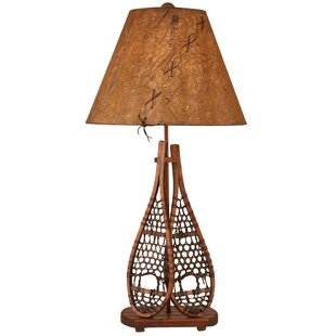 Rustic Living Snow Shoe 30 Table Lamp