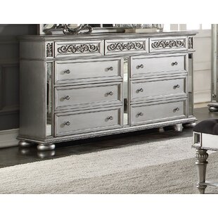 Rosdorf Park Astoria 9 Drawer Dresser
