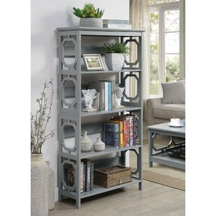 Ardenvor Etagere Standard Bookcase by Beachcrest Home