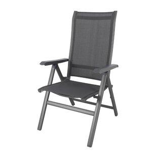 Cobos Reclining, Folding Garden Armchair By Sol 72 Outdoor