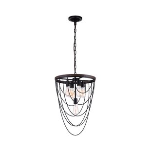 5-Light Chandelier by CWI Lighting