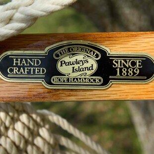 Pawleys Island Cushioned Single Cotton Chair Hammock by Pawleys Island