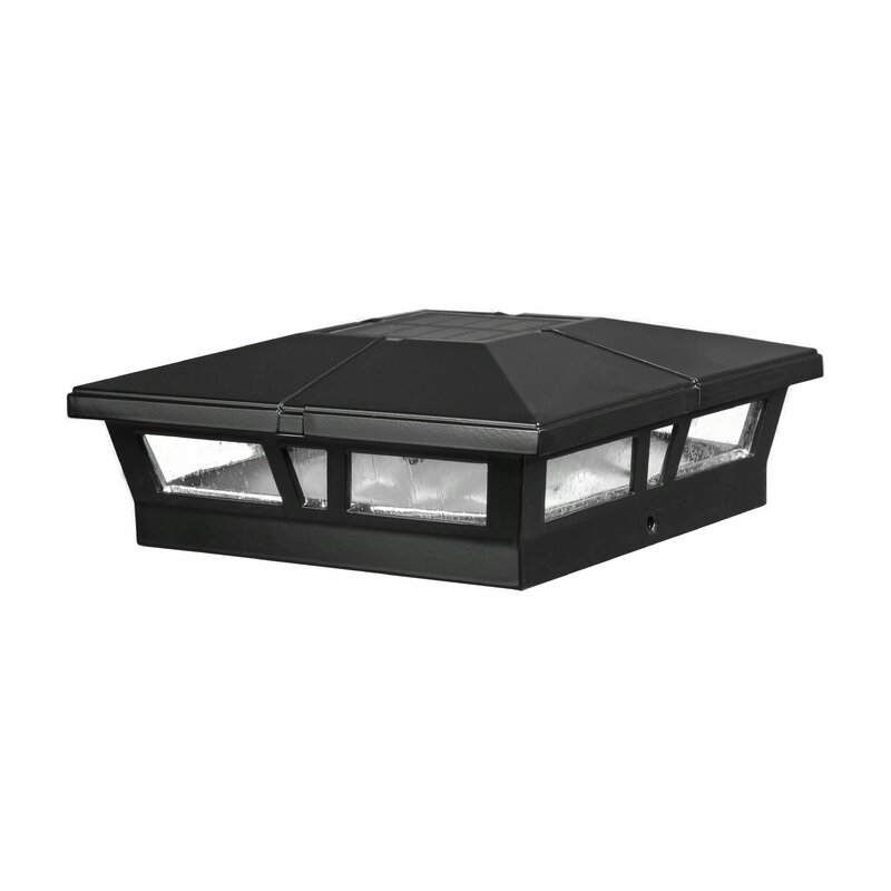 Cambridge 1-light Led Solar Fence Post Cap
